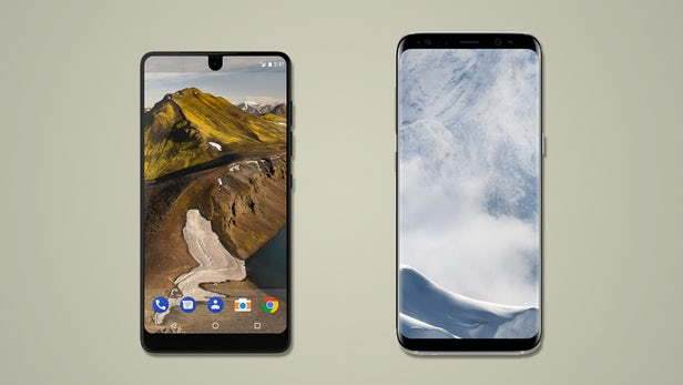 Essential Phone vs Galaxy S8 Karşılaştırması