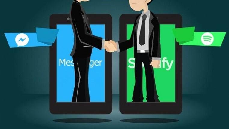 Facebook Messenger'da Spotify Çalma Listesi Oluşturma