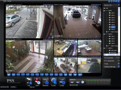 Güvenlik Kamerası İzleme Nasıl Yapılır?