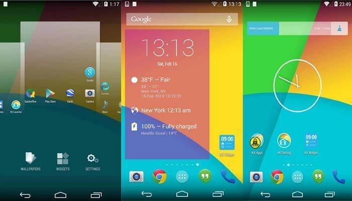 En iyi 20 Android Launcher Uygulaması