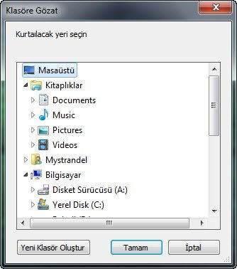 SD Karttan Silinen Dosyaları Geri Getirme