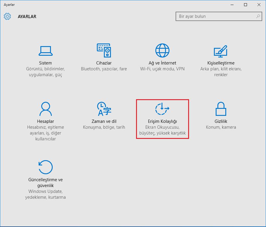 Windows 10 Başlat Menüsü Animasyonlarını Kapatma