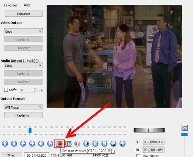 Avidemux ile Video Bölme ve Video Birleştirme Nasıl Yapılır