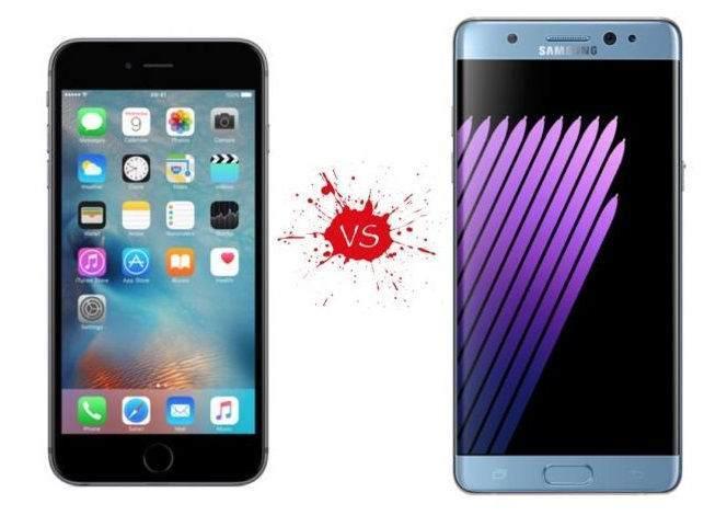 Galaxy Note 8 vs iPhone 7 vs iPhone 7 Plus Karşılaştırması