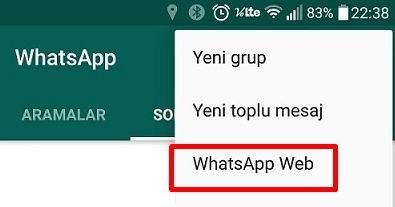WhatsApp Web'ten Çıkış Nasıl Yapılır