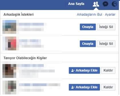 Facebook Arkadaşlık İstekleri İpuçları