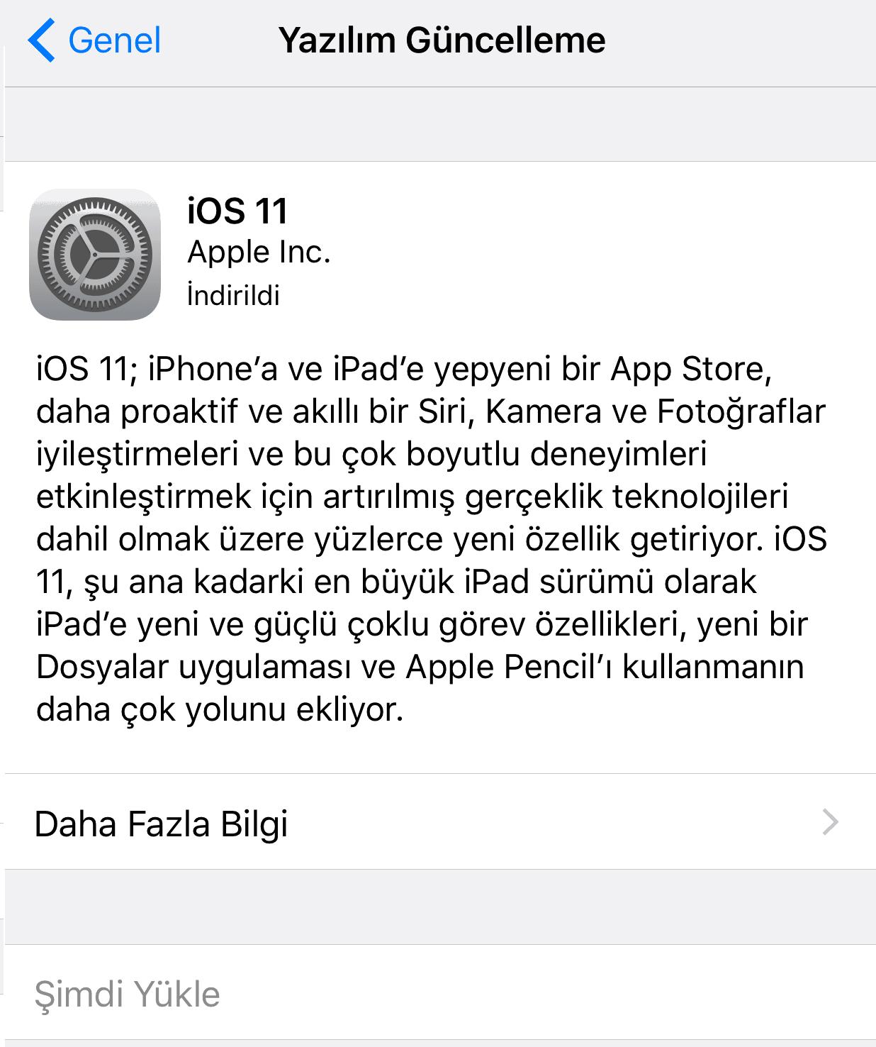 iOS 11 Yüklemesi Nasıl Yapılır
