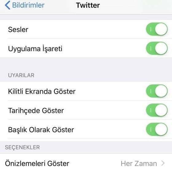 iPhone Kilitli Ekranda Mesaj Gözükmesin