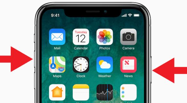 iPhone X'de Ekran Görüntüsü Nasıl Alınır