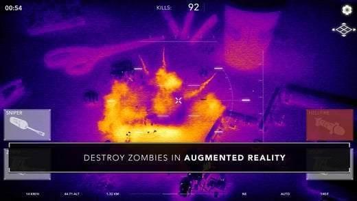 iPhone/iPad Artırılmış Gerçeklik Oyunları