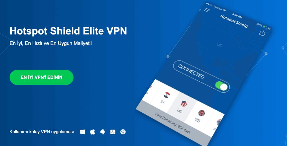 En iyi Bedava VPN Servisleri (2017)