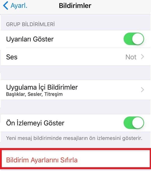 iPhone WhatsApp Bildirim Sorunu ve Çözümü