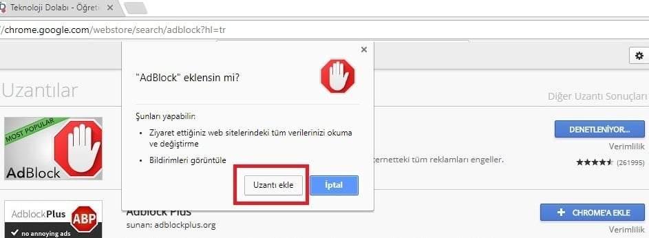 Chrome Eklentileri Nasıl Yüklenir ?