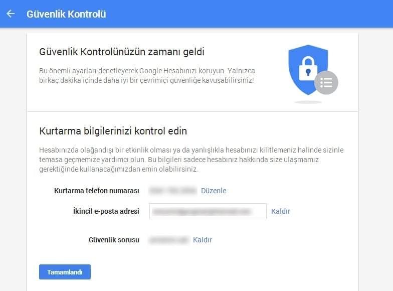 Gmail Güvenlik Ayarları Nasıl Yapılır?