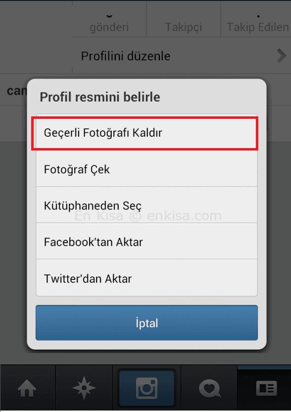 Instagram Profil Resmi Nasıl Kaldırılır?