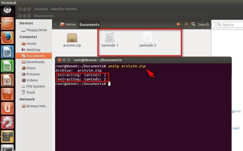 Linux Ubuntu'da Dosya Sıkıştırma ve Açma Nasıl Yapılır