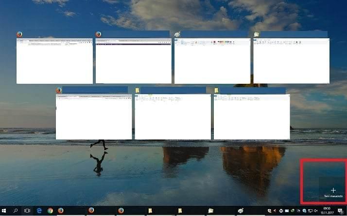 Windows 10'da Sanal Masaüstü Nasıl Oluşturulur