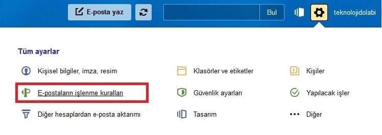 Yandex Mail Yönlendirme Nasıl Yapılır