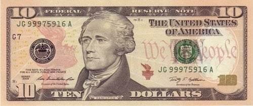 Amerikan Dolarının üzerindeki kişiler kimlerdir-10 DOLAR