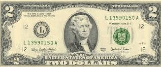 Amerikan Dolarının üzerindeki kişiler kimlerdir-2 DOLAR
