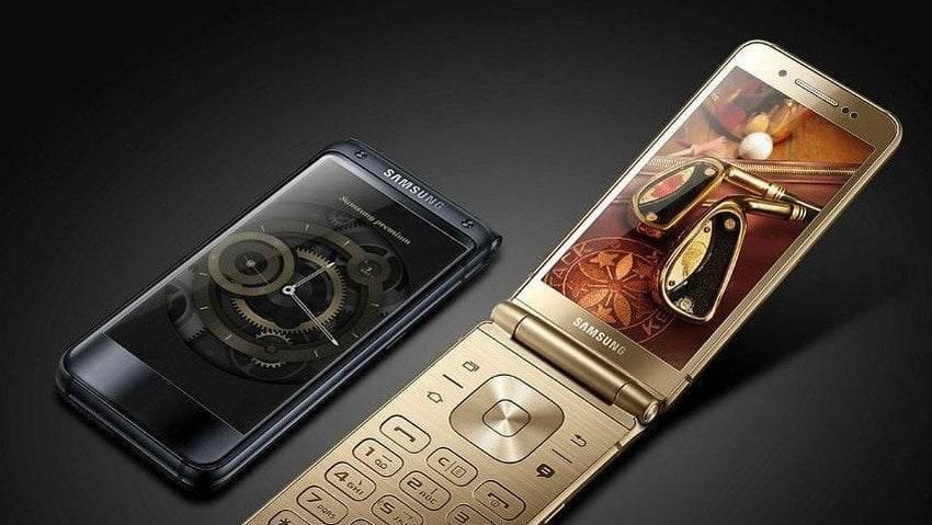 Kapaklı Telefon Samsung W2018 Özellikleri