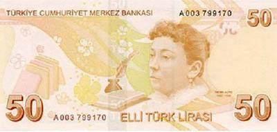 Paraların üzerindeki kişiler kimlerdir-50TL