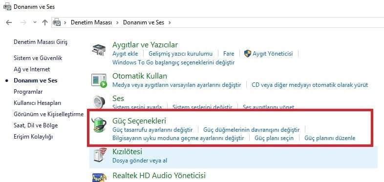 Windows 10 Kapanmıyor Sorunu ve Çözümü
