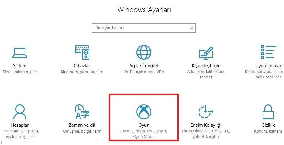 Windows 10 Oyun Modu Nasıl Açılır ?