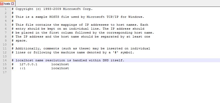 Windows Hosts Dosyası ile Site Engelleme Nasıl Yapılır?