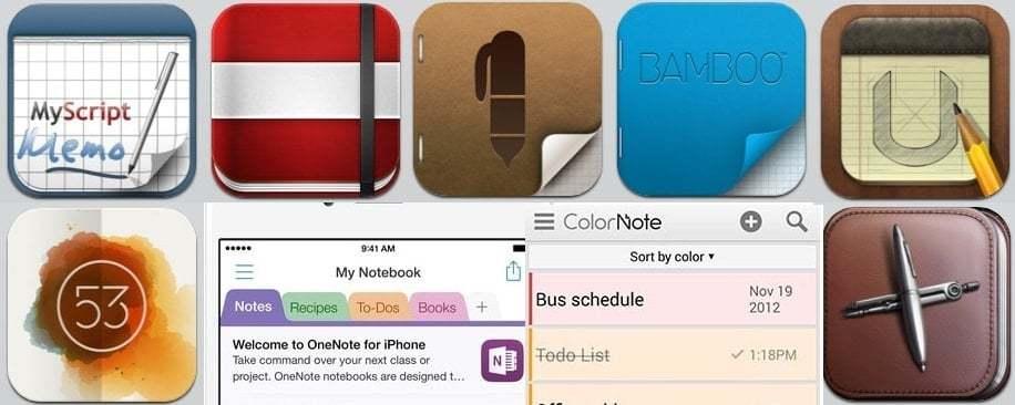 iPhone için Not Alma Uygulamaları
