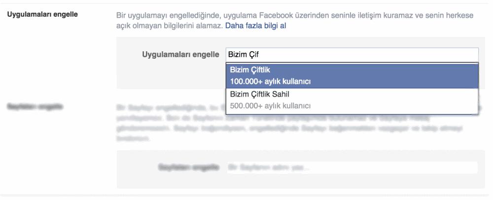 Facebook Oyun İsteklerini Engelleme
