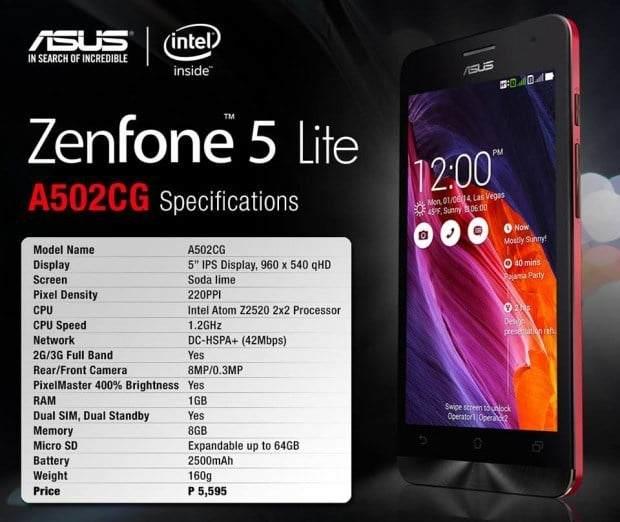 ASUS ZenFone 5 Lite Özellikleri