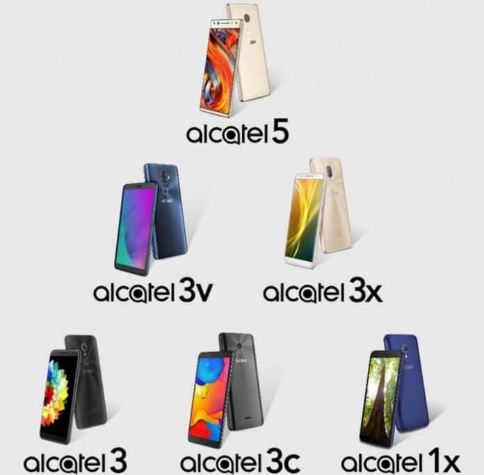 Alcatel 5, 3, 3X, 3V ve 1X Özellikleri