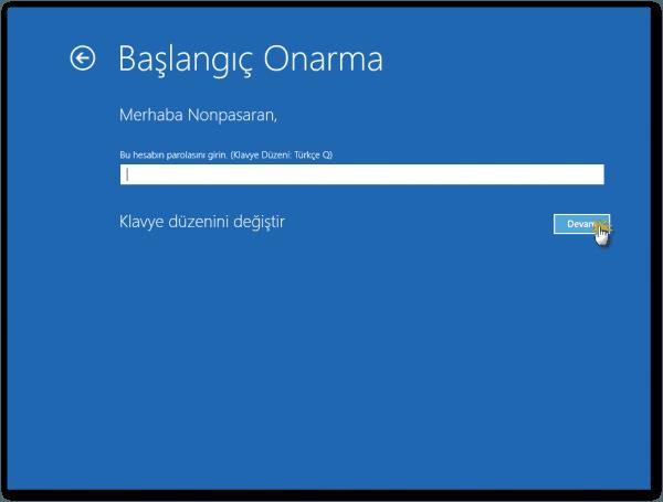 Windows 10 Başlangıç Onarma Nasıl Yapılır