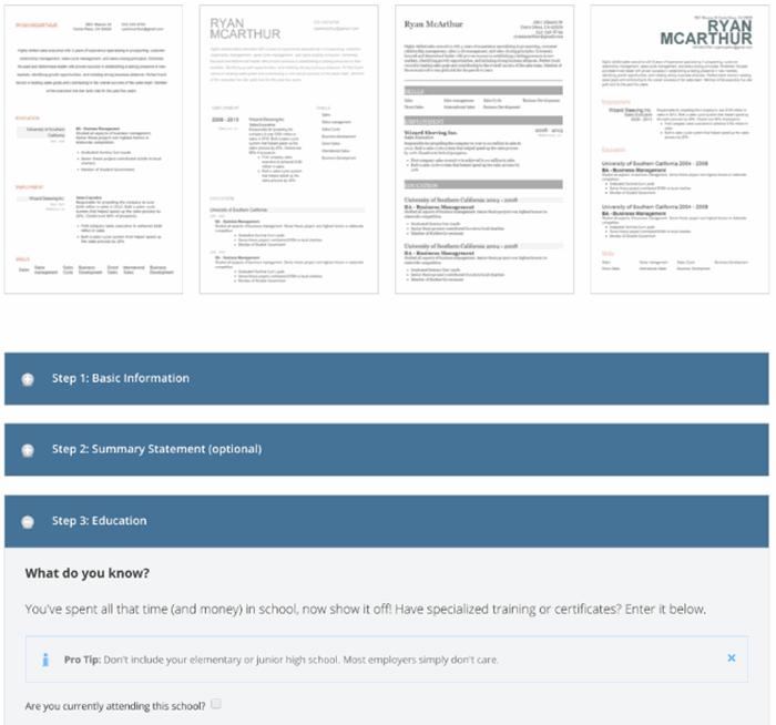 En iyi 5 CV Hazırlama Sitesi