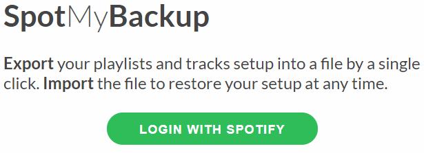 Spotify Çalma Listesi Yedekleme Nasıl Yapılır?