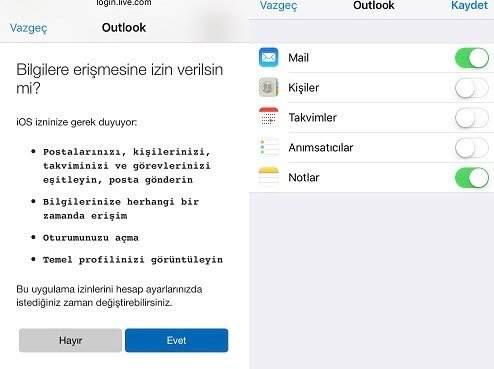 iPhone Hotmail Ayarları Nasıl Yapılır?
