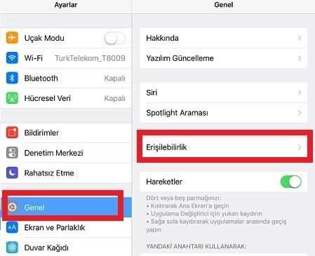 iPhone'da Yazı Tipi ve Boyutunu Değiştirme