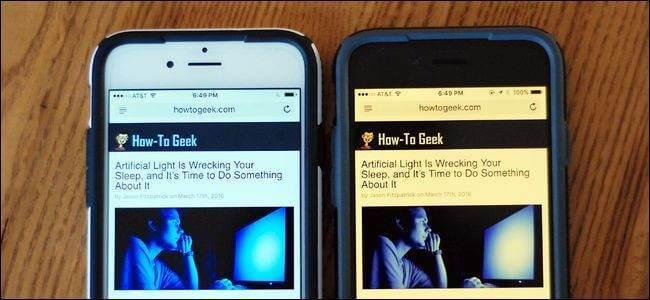iPad ve iPhone Sarı Ekran Sorununun Çözümü