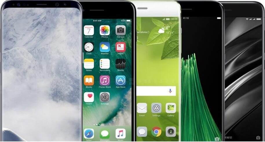 En çok satan 6 Akıllı Telefon
