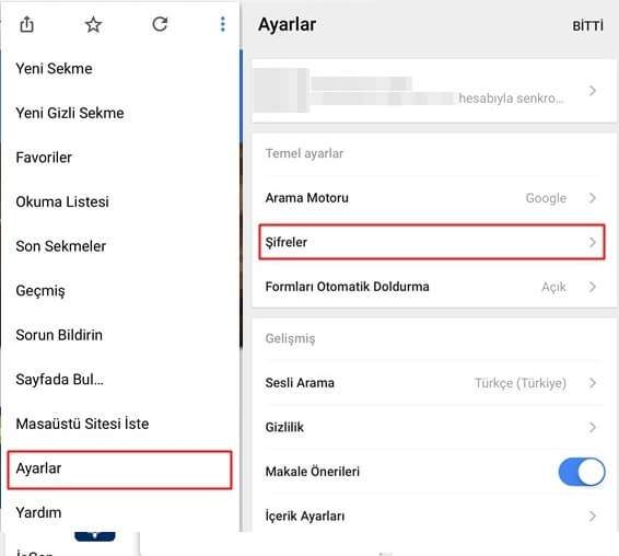 iPhone'da Chrome Kayıtlı Şifreleri Dışarı Aktarma Nasıl Yapılır?