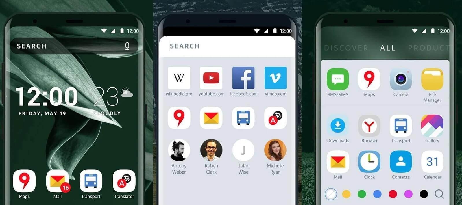 Android En iyi Launcher Uygulamaları 2018