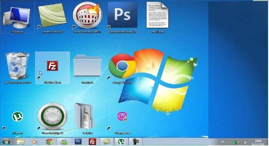 Windows 10 Masaüstü Simgeleri Büyütme ve Küçültme Nasıl Yapılır ?