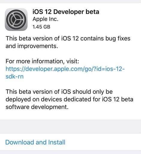 iOS 12 Beta Nasıl Yüklenir ?