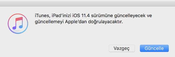 iOS 12 Beta'dan iOS 11'e Dönme