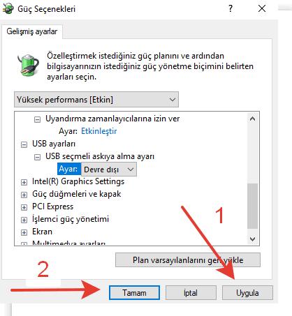 Windows 10 Uyku Modu Sorunu Çözümü