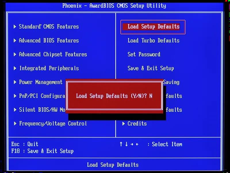 Bilgisayar Açılışta Bios Ekranında Kalıyor!