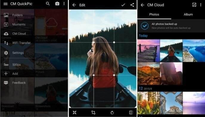 En iyi 10 Android Galeri Uygulaması