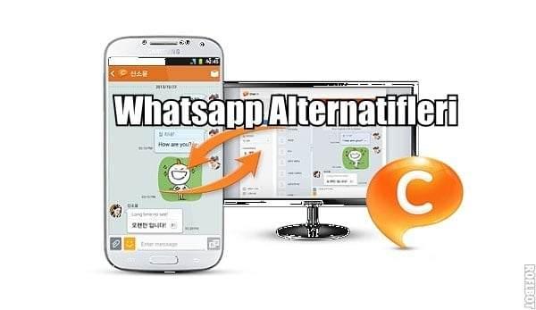 WhatsApp Benzeri Alternatif Mesajlaşma Uygulamaları
