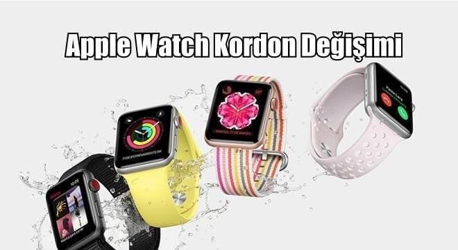 Apple Watch Kayış Değişimi
